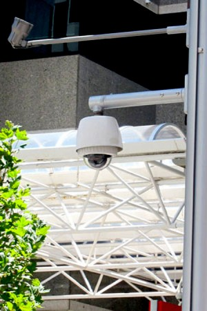 CCTV camera on MFP