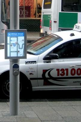 Taxi MFP screen