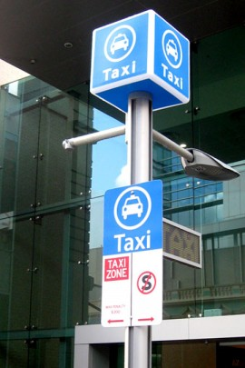 Taxi MFP light box